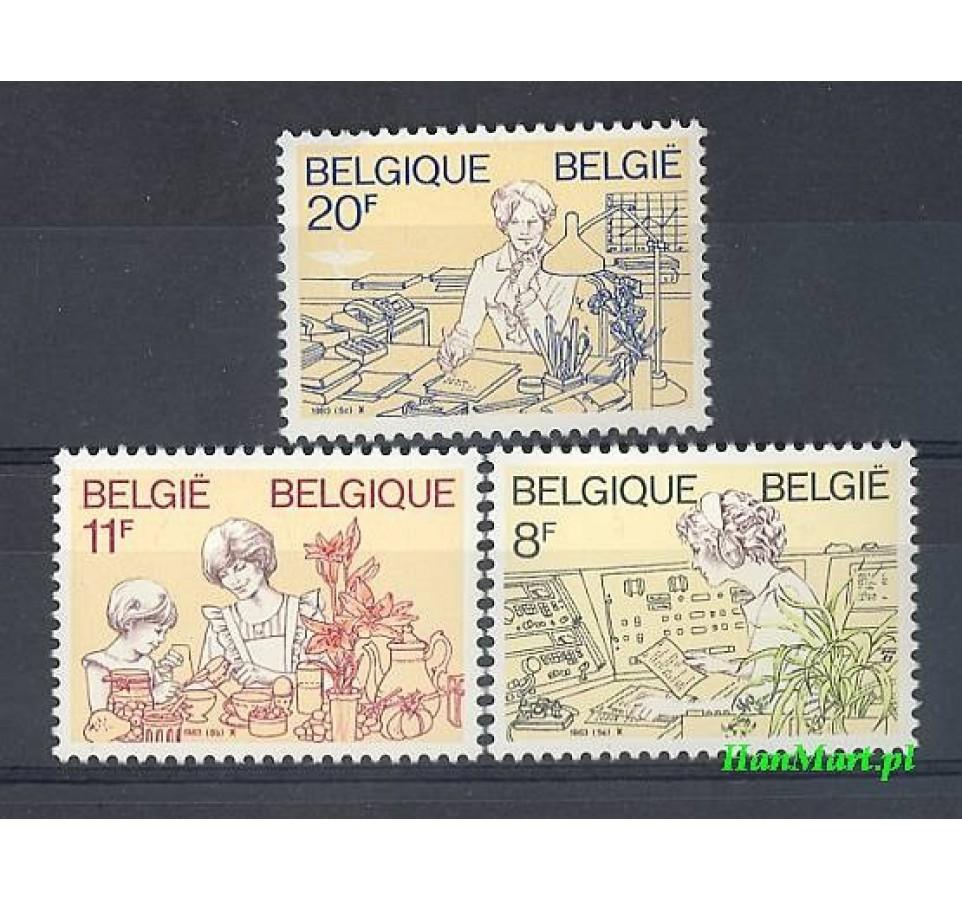 Belgia 1983 Mi 2138-2140 Czyste **