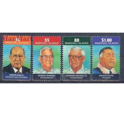 Znaczek Wyspy Marshalla 2001 Mi 1431-1434 Czyste **