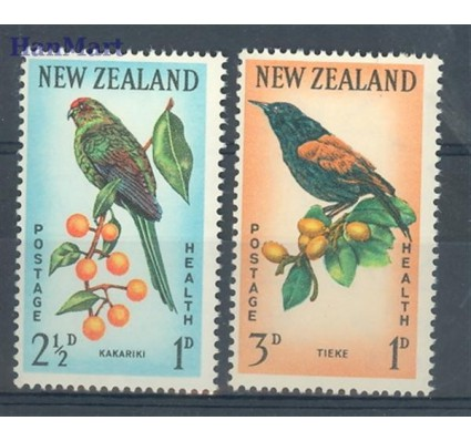Znaczek Nowa Zelandia 1962 Mi 422-423 Czyste **