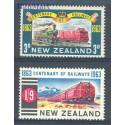 Nowa Zelandia 1963 Mi 428-429 Czyste **