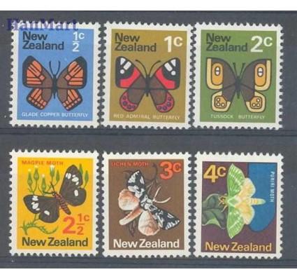Znaczek Nowa Zelandia 1970 Mi 517-522 Czyste **