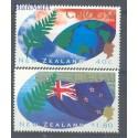 Nowa Zelandia 1995 Mi 1472-1473 Czyste **