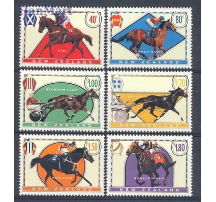 Nowa Zelandia 1996 Mi 1475-1480 Czyste **