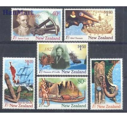 Znaczek Nowa Zelandia 1997 Mi 1578-1583 Czyste **