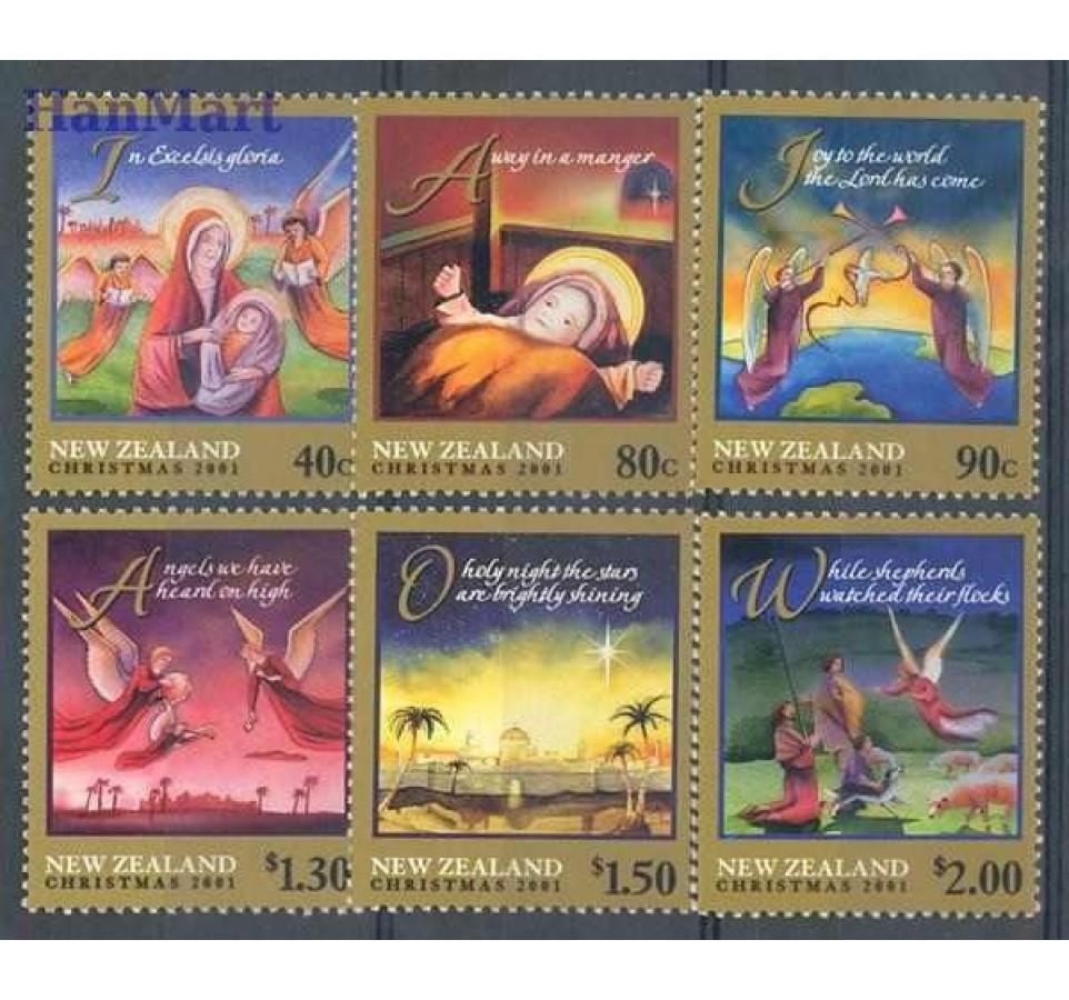 Nowa Zelandia 2001 Mi 1936-1941 Czyste **
