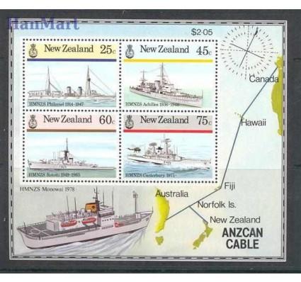 Znaczek Nowa Zelandia 1985 Mi bl 7 Czyste **