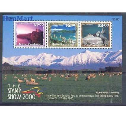 Nowa Zelandia 2000 Mi bl 111 Czyste **