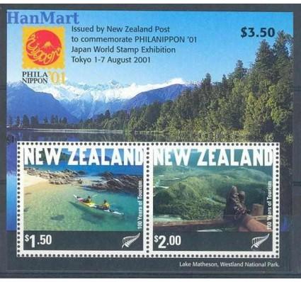 Znaczek Nowa Zelandia 2001 Mi bl 126 Czyste **