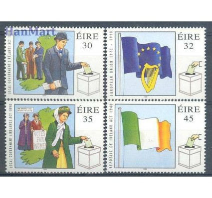 Znaczek Irlandia 1998 Mi 1080-1083 Czyste **