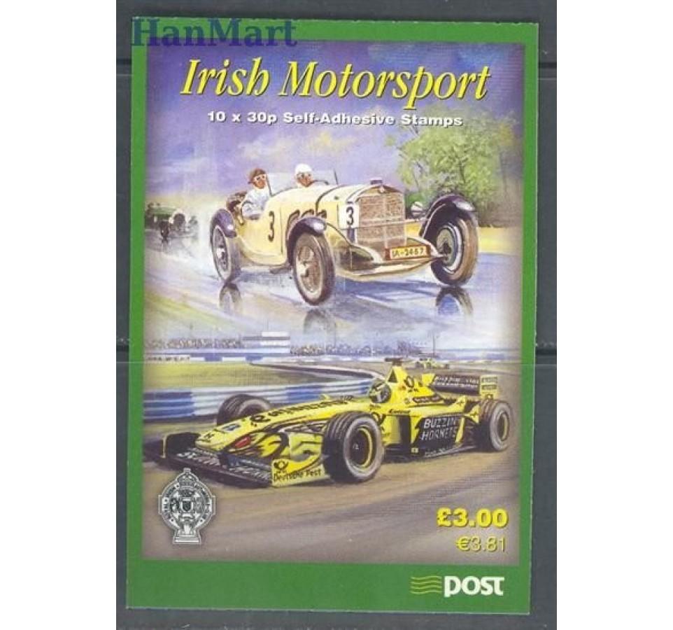 Irlandia 2001 Mi mh 1328-1331 Czyste **