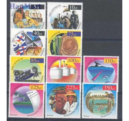 Znaczek Antyle Holenderskie 1999 Mi 1006-1015 Czyste **