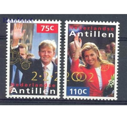 Znaczek Antyle Holenderskie 2002 Mi 1128-1129 Czyste **