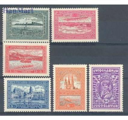 Jugosławia 1932 Mi 243-248 Czyste **