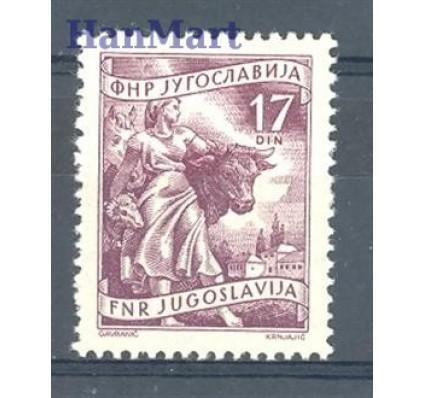 Znaczek Jugosławia 1955 Mi 760 Czyste **