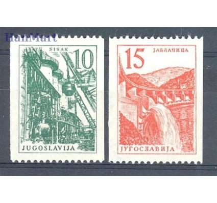 Jugosławia 1958 Mi 839-840 Czyste **