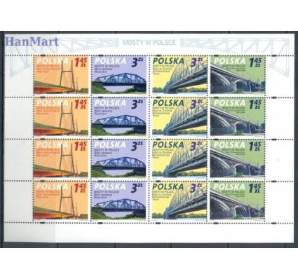 Polska 2008 Mi ark 4373-4376 Fi ark 4223-4226 Czyste **
