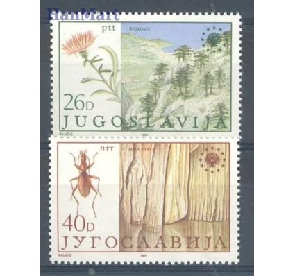 Znaczek Jugosławia 1984 Mi 2053-2054 Czyste **