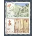 Jugosławia 1984 Mi 2053-2054 Czyste **