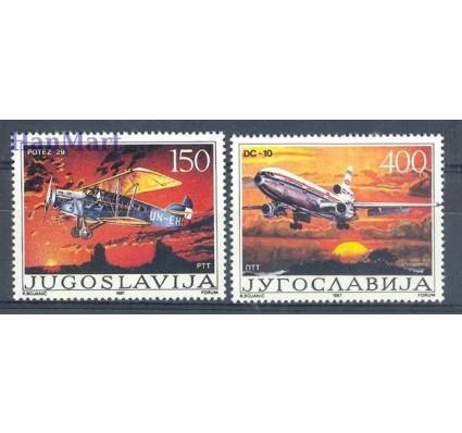 Znaczek Jugosławia 1987 Mi 2213-2214 Czyste **