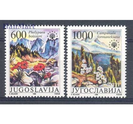 Znaczek Jugosławia 1988 Mi 2284-2285 Czyste **