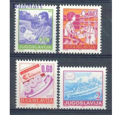 Znaczek Jugosławia 1990 Mi 2401-2404A Czyste **