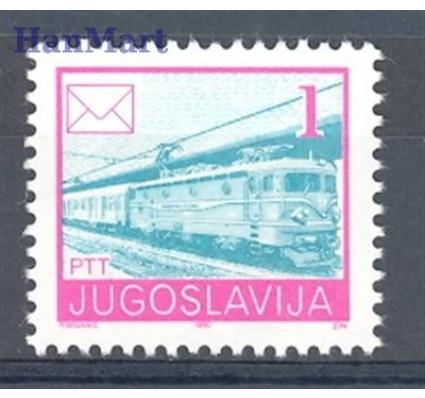 Znaczek Jugosławia 1990 Mi 2422C Czyste **