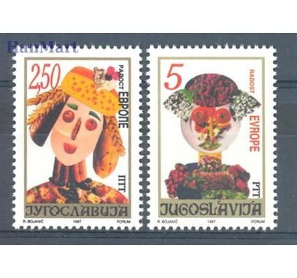 Znaczek Jugosławia 1997 Mi 2834-2835 Czyste **