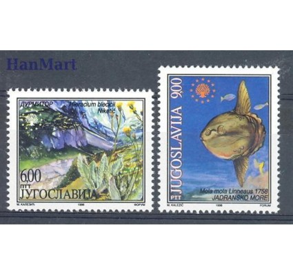 Znaczek Jugosławia 1998 Mi 2860-2861 Czyste **