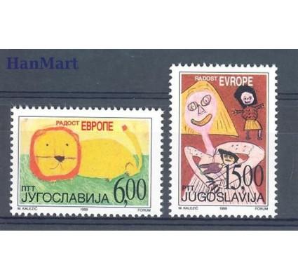 Jugosławia 1999 Mi 2928-2929 Czyste **
