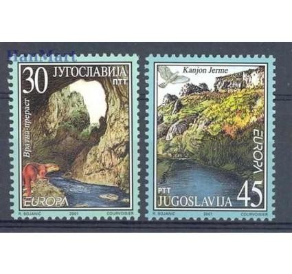Jugosławia 2001 Mi 3031-3032 Czyste **