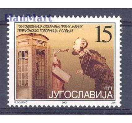 Jugosławia 2001 Mi 3052 Czyste **