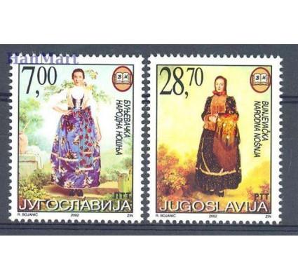 Jugosławia 2002 Mi 3069-3070 Czyste **