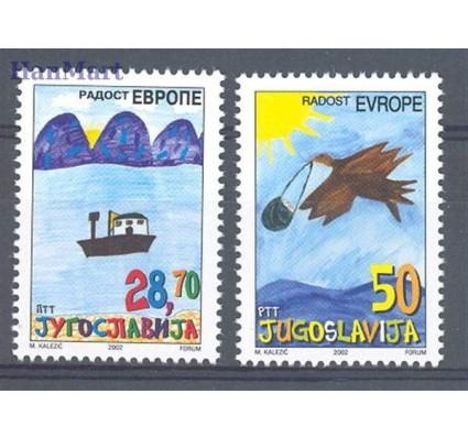 Jugosławia 2002 Mi 3088-3089 Czyste **