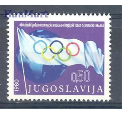 Znaczek Jugosławia 1980 Mi zwa 72 Czyste **