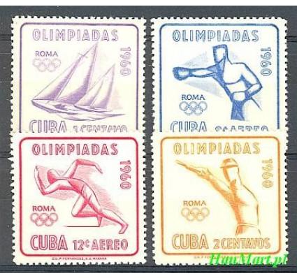 Znaczek Kuba 1960 Mi 669-672 Czyste **