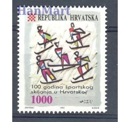 Znaczek Chorwacja 1993 Mi 263 Czyste **