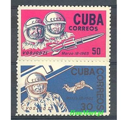 Znaczek Kuba 1965 Mi 1008-1009 Czyste **