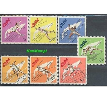 Znaczek Kuba 1965 Mi 1103-1109 Czyste **