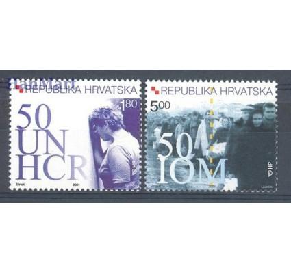 Chorwacja 2001 Mi 579-580 Czyste **