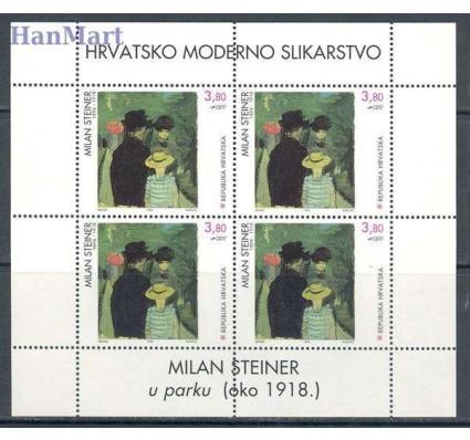 Znaczek Chorwacja 1994 Mi ark 295-297 Czyste **