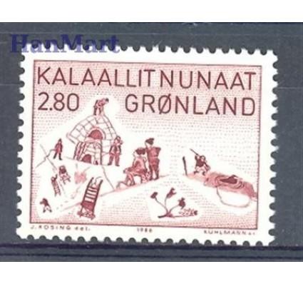 Znaczek Grenlandia 1986 Mi 167 Czyste **