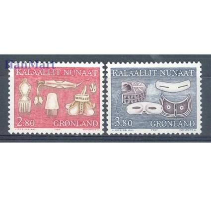 Grenlandia 1987 Mi 174-175 Czyste **