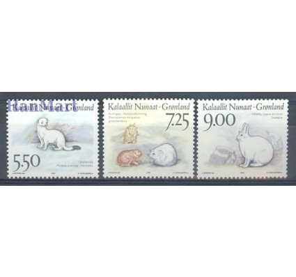 Znaczek Grenlandia 1994 Mi 249-251 Czyste **