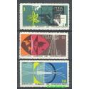 Kuba 1969 Mi 1480-1482 Czyste **