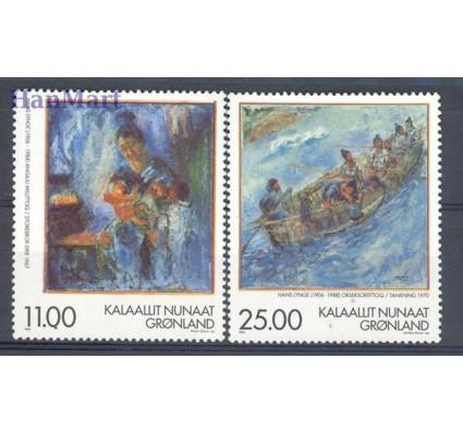 Znaczek Grenlandia 1998 Mi 325-326 Czyste **