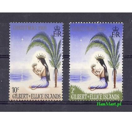 Znaczek Gilbert Islands 1969 Mi 152-153 Czyste **