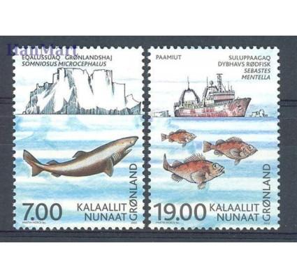 Grenlandia 2002 Mi 387-388 Czyste **