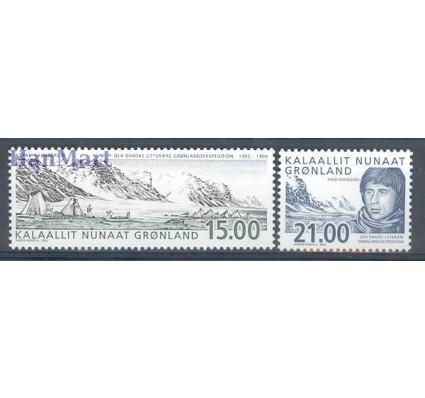 Grenlandia 2003 Mi 396-397 Czyste **