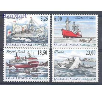 Znaczek Grenlandia 2005 Mi 441-444 Czyste **