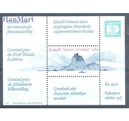 Grenlandia 1987 Mi bl 2 Czyste **